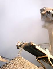 Sector van de cementfabrieken en de steengroeven