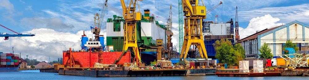 Sector van de haveninstallaties