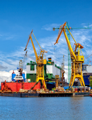 Sector van de haveninstallaties